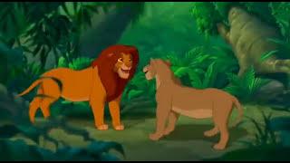 """""""سيمبا يقابل نالا"""" - الاسد الملك"""