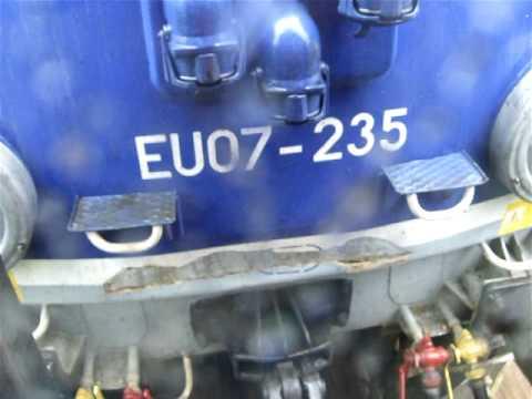 EU07 235 jako 33411 TLK Wielkopolanin w deszczu do Zakopanego