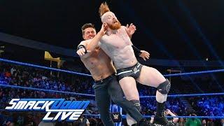 The Miz vs. Sheamus: SmackDown LIVE, Jan. 14, 2019