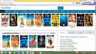HOW TO DOWNLOAD LATEST ( NEW ) BOLLYWOOD , HOLLYWOOD MOVIE USING TORRENT AND TODAYPK | BY HTD