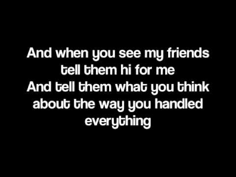 When You See My Friends by Mayday Parade [Lyrics]