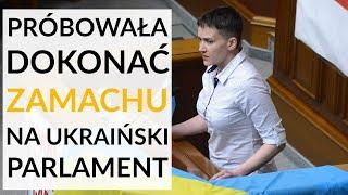 Nadia Sawczenko oskarżona o próbę zamachu stanu na Ukrainie: relacjonuje Paweł Bobołowicz