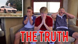 THE TRUTH BEHIND THE CAR FLIP ACCIDENT... *SECRET ANGLE*