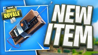*NEW* REMOTE EXPLOSIVES & LOOT LLAMAS! - Fortnite Battle Royale