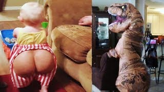 Funny Halloween Kids and Babies Fails 2018