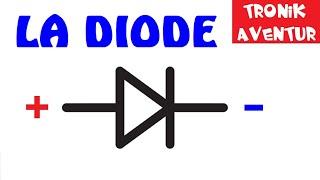 TRONIK AVENTUR 6 - LA DIODE - les LED ou DEL ELECTRONIQUE POUR LES NULS