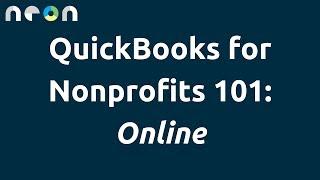 QuickBooks for Nonprofits 101: Online