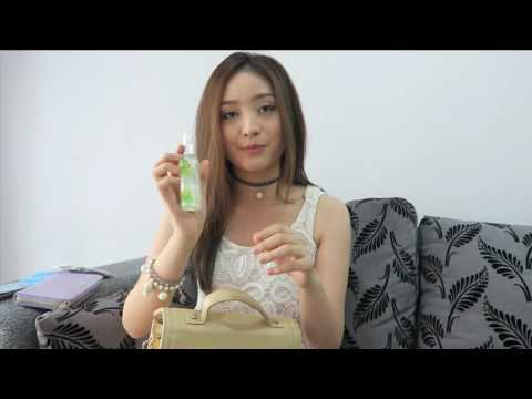 Natasha Wilona : In my Bag  bongkar isi tas Natasha Wilona  First Time