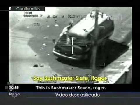 Video desclasificado Wikileaks