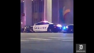 Michael Bautista captured part of downtown Dallas shooting during Facebook Live