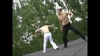 Capoeira vs Kung fu fight