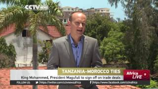 Tanzania is hosting Morocco's King Mohammed the Sixth