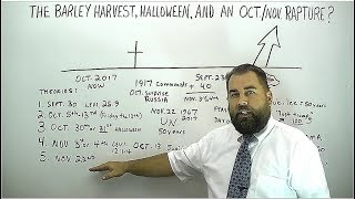 The Barley Harvest, Halloween, and an Oct/Nov Rapture?