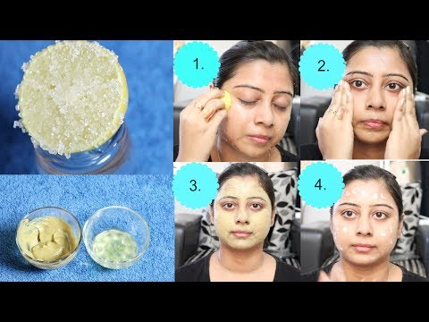 How to do LEMON FACIAL at HOME step by step || Fresh Looks in Summer