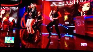 Ashanti performs on 106