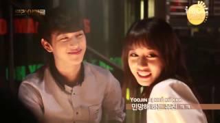 [Vietsub] Kiss scene T-ARA Jiyeon & ZE:A Siwan @ BTS Triangle