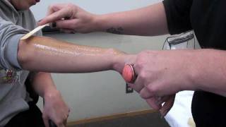 SPEED WAXING of the arms