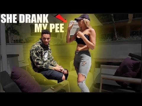 Xxx Mp4 GIRLFRIEND DRINKS MY PEE PRANK BACKFIRES 3gp Sex