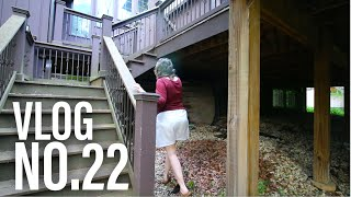 Something is Living Under Our House... -- Bass Fishing VLOG