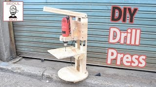 How to make a DIY Drill Press