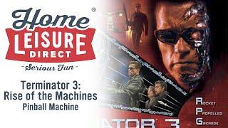 Terminator 3: Rise of the Machines Pinball Machine (STERN 2003)