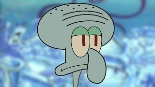 Squidward Traveled to the Future Today