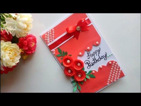 Xxx Mp4 Beautiful Handmade Birthday Card Idea DIY Greeting Pop Up Cards For Birthday 3gp Sex