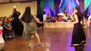Pakistani Wedding Sweet Girls Dance on '' Malang Malang '' FULL HD