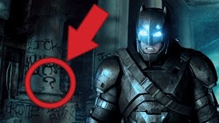 10 COOLEST Batman v Superman: Dawn of Justice Easter Eggs, References and Trivia