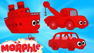 My Magic Boat,  My Magic Tow Truck & My Magic Car -- My Magic Pet Morphle Cartoons for Kids