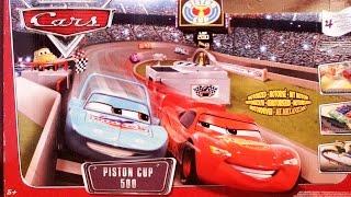 Cars 2 Kinder film DEUTSCH Piston Cup Cars Toys 2015 Autorennen Rennbahn Spielzeug