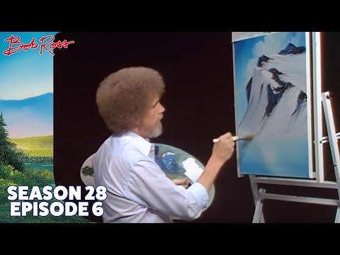 Bob Ross Glacier Lake Season 28 Episode 6