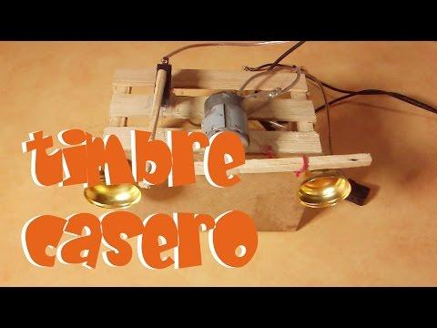 como hacer un timbre casero how to make a homemade bell