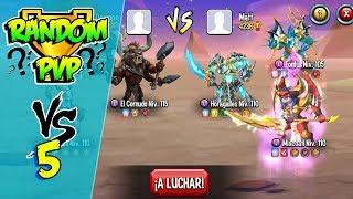 ATACO A LA REINA ROJA FALSA !! PvP Random - Monster Legends #5