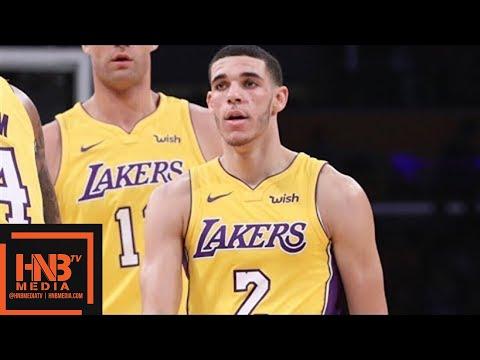 Xxx Mp4 LA Lakers Vs Chicago Bulls Full Game Highlights Week 6 2017 NBA Season 3gp Sex