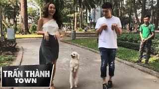 TRẤN THÀNH Và MINH HẰNG Chạy Đua Với Chó Poodle