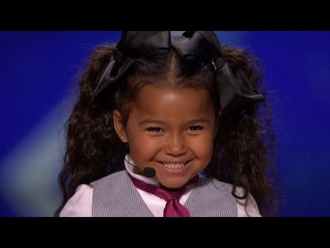 America s Got Talent 2015 S10E06 Heavenly Joy Jerkins 5 Year Old Singer Is The Next Shirley Temple