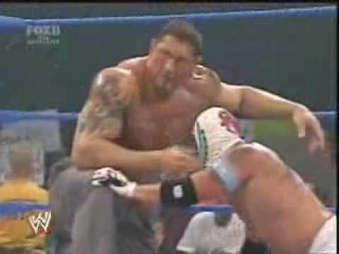 Rey Mysterio Vs The Great Khali Smackdown 2007