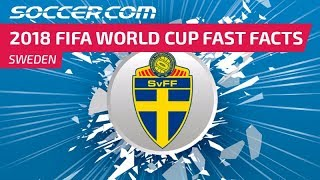 Sweden - 2018 FIFA World Cup Fast Facts
