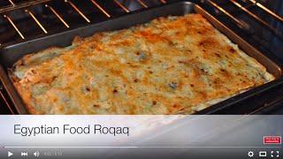 Egyptian Food Roqaq Recipe