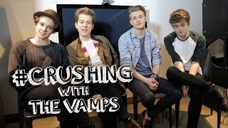 The Vamps Share Celeb Crushes, Song Crushes, Food Crushes - #Crushing - Episode 2