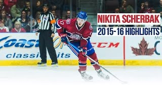 Nikita Scherbak 2015-2016 Highlights