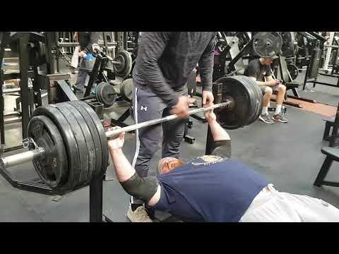 Xxx Mp4 528lb Bench Press With IFBB PRO Bodybuilder James Hollingshead 3gp Sex