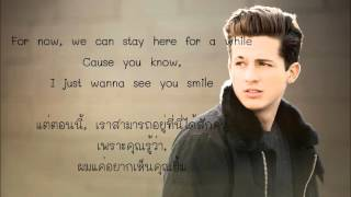 Charlie Puth - One Call Away (ThaiSub-แปลไทย)