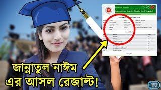 জান্নাতুল নাঈম এভ্রিল এর SSC ও HSC এর আসল রেজাল্ট দেখুন!   Jannatul Nayeem Avril Miss World Bangla