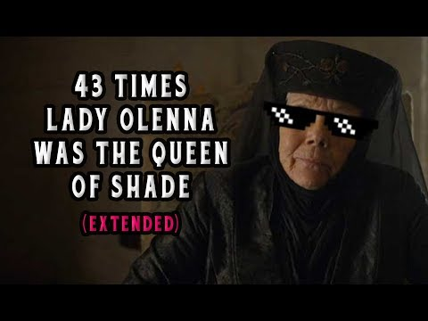 43 Times Lady Olenna From Game of Thrones Was The Queen of Shade Extended