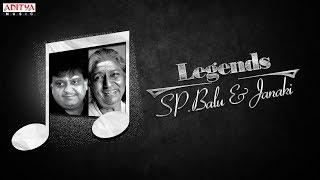 Legends - S.P. Balu & Janaki   Telugu Golden Songs Jukebox Vol. 1