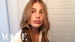 How to Get the Ultimate Beach Wave Hair With Model Cami Morrone | Beauty Secrets | Vogue