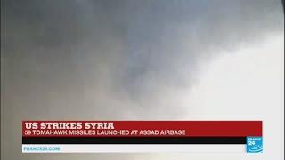US Strikes Syria: