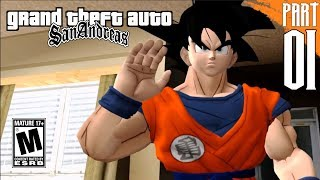 DBZ: SAN ANDREAS   Goku Story Mode part 1 [PC- HD]